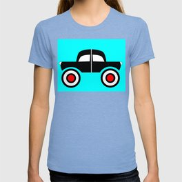 Black Car Two Directions T-shirt
