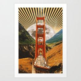 Bridge to Fantasy Land Art Print