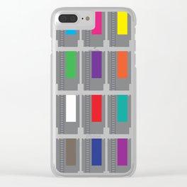 8-BIT-Cartridges Clear iPhone Case