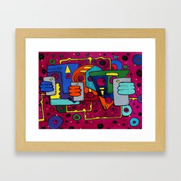 Lost Signal Framed Art Print