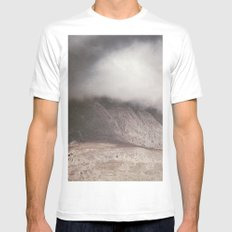 The Storm White MEDIUM Mens Fitted Tee