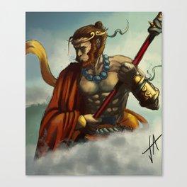 Sun Wukong Canvas Print