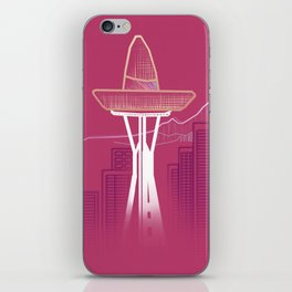 Seattle Sombre iPhone Skin