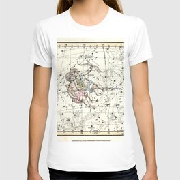 Gemini Constellation Celestial Atlas Plate 15 - Alexander Jamieson T-shirt
