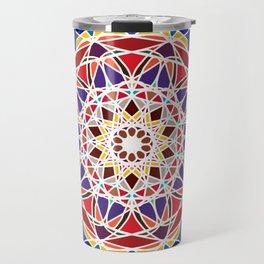 Mandala Flower Travel Mug