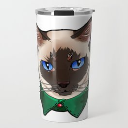 Siamese cat Face Cats Kitty cute love funny gift Travel Mug
