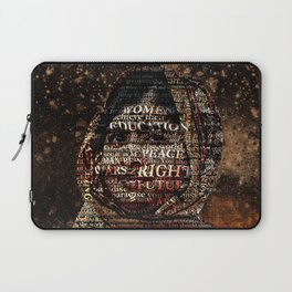 One Book, One Pen, One Child, and One Teacher Can Change The World !!! Laptop Sleeve