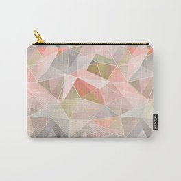 Broken glass in warm colors. Carry-All Pouch