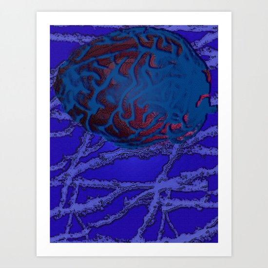 Synapse II Art Print