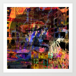 Frustration Nation, Take 4 (Recommend Genre Static) [A.N.T.S Series] Art Print