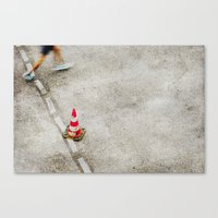 running Canvas Prints featuring running by hannes cmarits (hannes61)