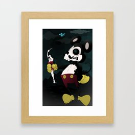 el secuestro Framed Art Print