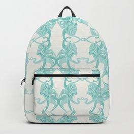 Blue Octacluar Octopus Backpack