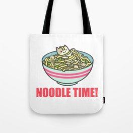 I Love Noodle Kawaii Artwork Tote Bag