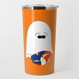 Ghost Jelly Bean,  Bonbon fantôme - Halloween party Travel Mug