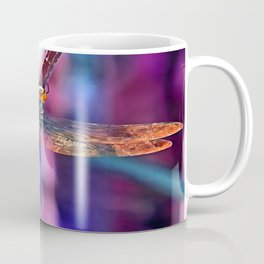 Dragonfly In Orange and Blue Coffee Mug