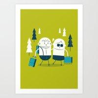 :::Excursion time::: Art Print