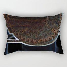 Circular Corrosion Rectangular Pillow