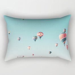 Hot Air Balloon Ride Rectangular Pillow