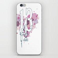 143 iPhone Skin