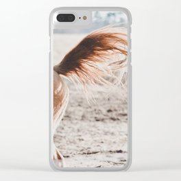 Tail Whip Clear iPhone Case