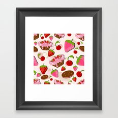 Sweets for the Sweet Framed Art Print