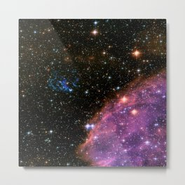 Fireworks in Small Magellanic Cloud dwarf galaxy (NASA/ESA/Hubble) Metal Print