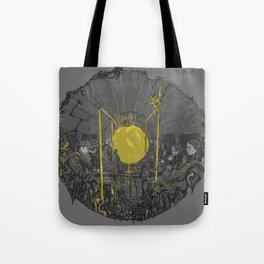 Sound on the underground Tote Bag