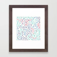 Circuit 1 Framed Art Print