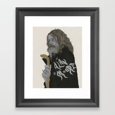 Alan Moore Framed Art Print
