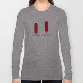 Ketchup-Ketchdown Long Sleeve T-shirt