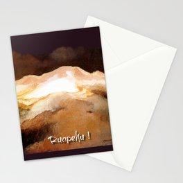 Ruapehu Sunset Stationery Cards