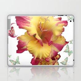 Butterflies Fairies and The Gladiola  Laptop & iPad Skin