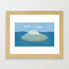 Island - Day Framed Art Print