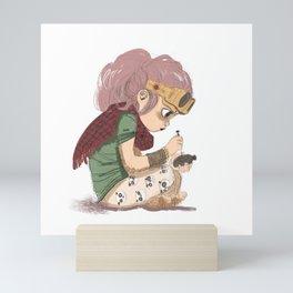Bricolage Mini Art Print