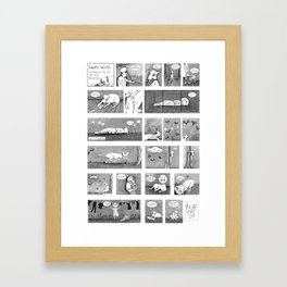 Luni's World Framed Art Print