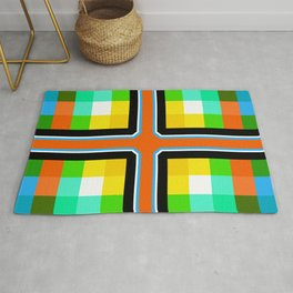 Color Bars & Squares 4 Rug