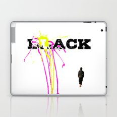 black Laptop & iPad Skin