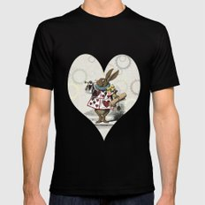 The Hare Mens Fitted Tee MEDIUM Black