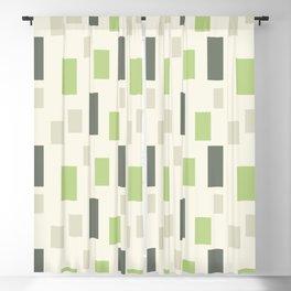Random Blocks #illustration #pattern Blackout Curtain