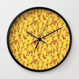 Feathered Flocks - Beak Bunch Wall Clock