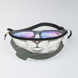 Techno Cat Headphone Fanny Pack