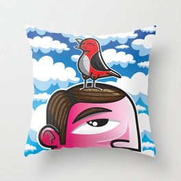 #ReTweet Throw Pillow