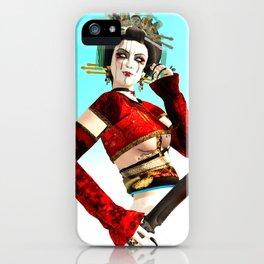 The Mad Geisha iPhone Case