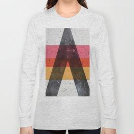 A minimal graphic design artwork Long Sleeve T-shirt