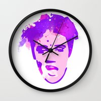 elvis Wall Clocks featuring ELVIS by BIG Colours