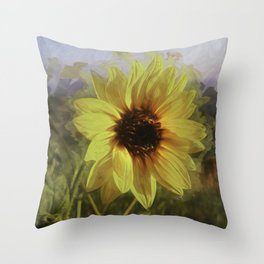 Colby Sunflower Throw Pillow