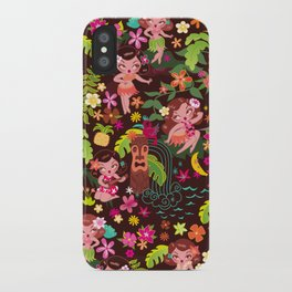 Hula Cuties Pattern iPhone Case