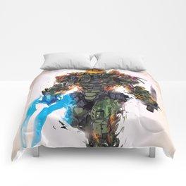 Batle Damaged Chief Comforters