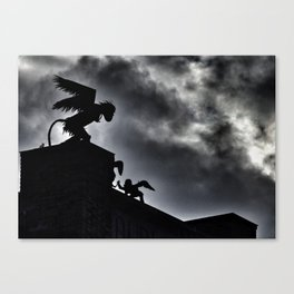 Winged Monkeys Canvas Print